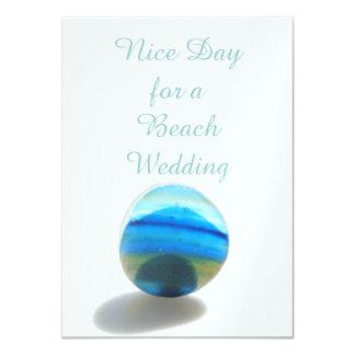 De Dag van Nice voor een Huwelijk van het Strand Kaart