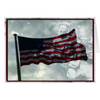 De Dag van veteranen, Amerikaanse Vlag en de Briefkaarten 0