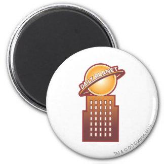 De dagelijkse Planeet Koelkast Magneten
