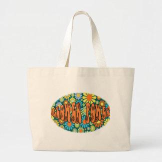 De Dagen FLOWER POWER van de hippie Canvas Tas