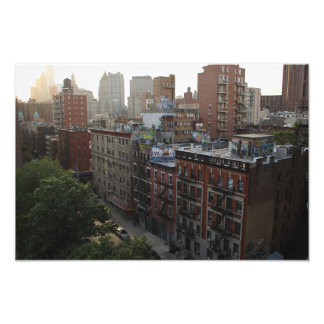 De Daken van New York Foto Afdruk