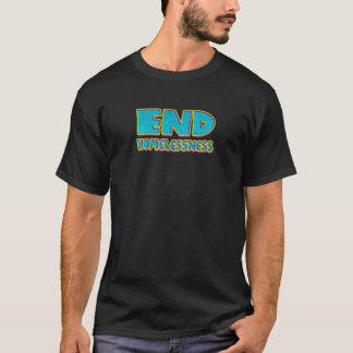 De dakloosheid van het eind t shirt