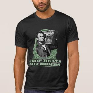 De daling slaat niet het Citaat van Abe Lincoln T Shirt