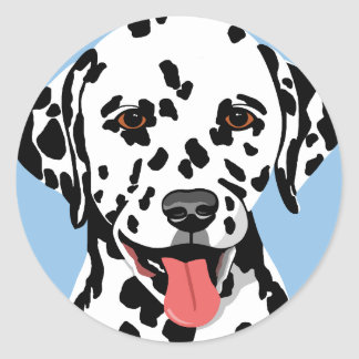 De Dalmatische Stickers van de Hond
