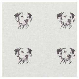De Dalmatische Stof van de Kunst van de Hond