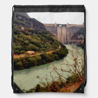 De Dam van Nangal van Bhakra Trekkoord Rugzakje