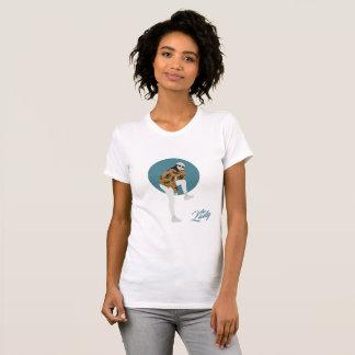 De dame - Blad T Shirt