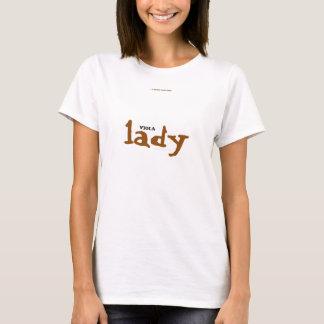 De dame van de ALTVIOOL T Shirt