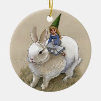 De Dame van de gnoom en het Witte Ornament van het
