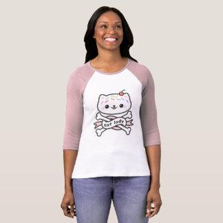 De Dame van de kat T Shirt
