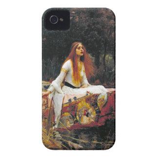 De dame van Shalott iPhone 4 Case-Mate Hoesje