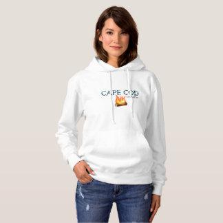 De Dames Hoodie van het Kampvuur van Cape Cod