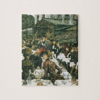 De dames van de Kunstenaar door James Tissot, Puzzel