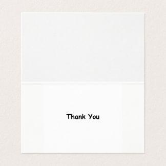 De dankbaarheid dankt u Kaarten