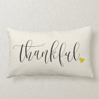 De dankbare, Gift van de Thanksgiving Lumbar Kussen