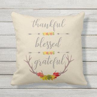 De dankbare Heilige Dankbare Thanksgiving van de Sierkussen