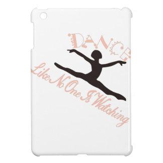 De dans als niemand let op hoesje voor iPad mini