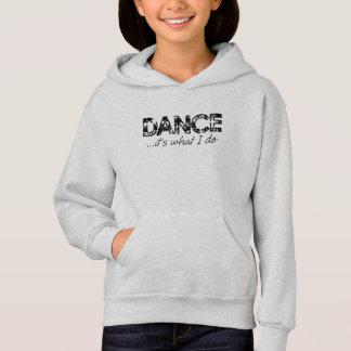 De dans… het is wat ik Hoodie - Grijze As doe