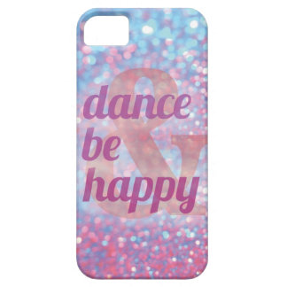 De dans & is Gelukkig iphonehoesje Barely There iPhone 5 Hoesje