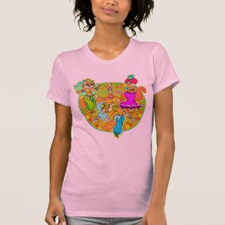 De Dans van de Katten van buikdansen draag T Shirt