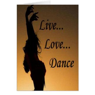 De Dans van de Liefde van Liv Briefkaarten 0