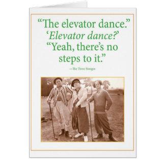 De Dans van de lift Kaart