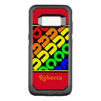 De Dans van de regenboog OtterBox Commuter Samsung Galaxy S8 Hoesje