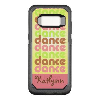 De Dans van de tri-kleur OtterBox Commuter Samsung Galaxy S8 Hoesje
