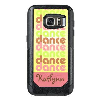 De Dans van de tri-kleur OtterBox Samsung Galaxy S7 Hoesje