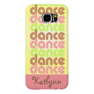 De Dans van de tri-kleur Samsung Galaxy S6 Hoesje