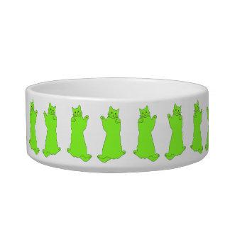 De dansende Groene kom van Katten