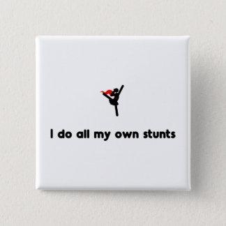 De Dansende Held van het ballet Vierkante Button 5,1 Cm