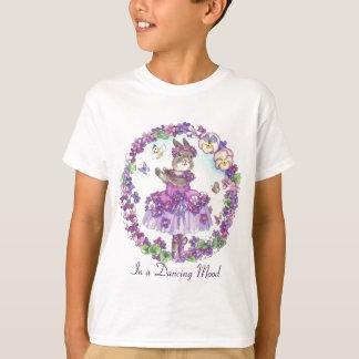 De dansende Kinder T-shirt van de Stemming