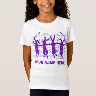 De dansende Wijnoogst van Konijntjes kijkt T-shirt