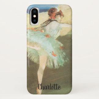 De danser van de Ster op Punt door Edgar Degas iPhone X Hoesje
