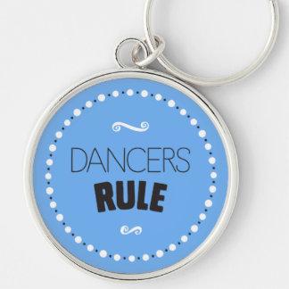 De dansers beslissen Achtergrond Keychain - Sleutelhanger