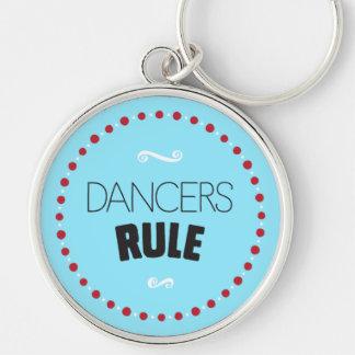 De dansers beslissen - Blauw Sleutelhanger