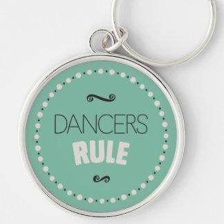 De dansers beslissen - Groen Sleutelhanger