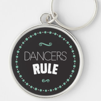 De dansers beslissen - Zwarte Sleutelhanger
