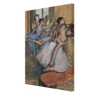 De dansers canvas print
