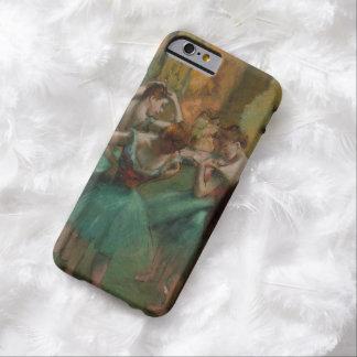 De Dansers Roze en Groen Edgar Degas van het Barely There iPhone 6 Hoesje