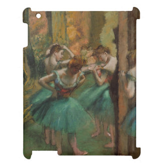 De Dansers Roze en Groen Edgar Degas van het iPad Covers