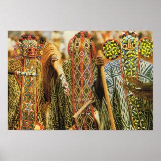 De dansers van Banjouge, Kameroen Poster