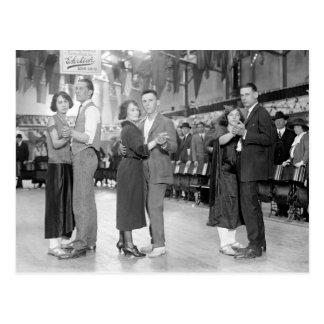 De Dansers van de marathon, 1923 Briefkaart