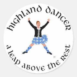 De Dansers van het hoogland - een Sprong boven de Ronde Sticker
