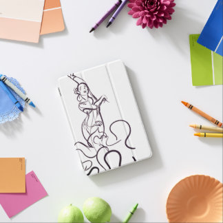 De dansersschetsen van het flamenco iPad mini cover