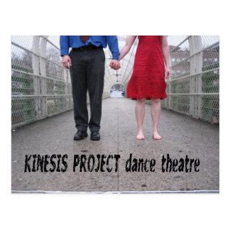 De danstheater van het Project van Kinesis Briefkaart