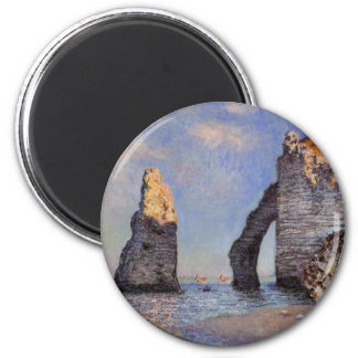 De d'Aval Naald van de Rots en Porte - C. Monet Magneet