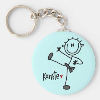 De de basis T-shirts en Giften van de Karate van h Sleutelhanger