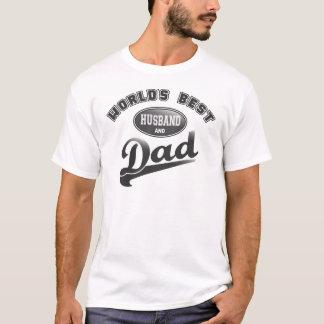 De de Beste Echtgenoot & Papa van de wereld T Shirt